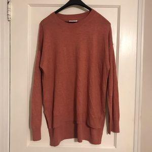 Lou & Grey oversized hi-low Sweater